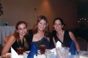 Jessica, me and Amanda at some function for school.... it was important, but I can't remember what it was :)