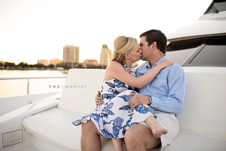 st. Pete lakeside engagement