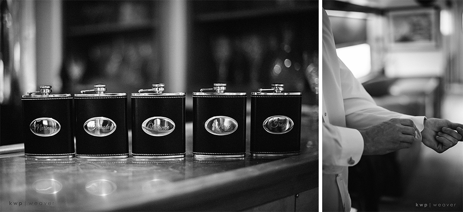 custom groomsmen flask