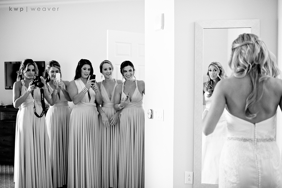 unique bridesmaid dress