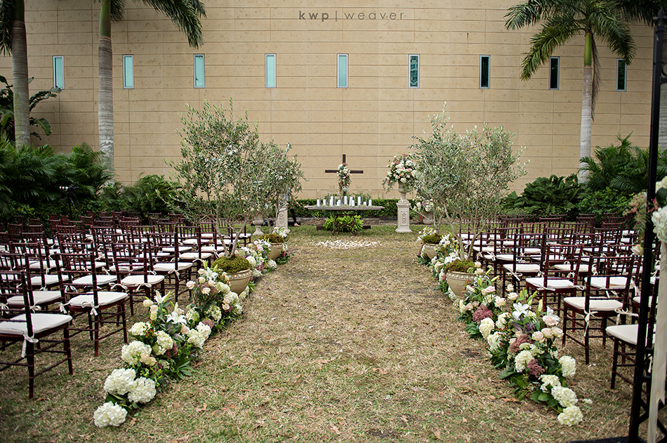 St. Pete MFA outside Ceremony Space