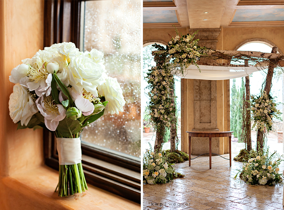 Greenery Productions Floral ceremony