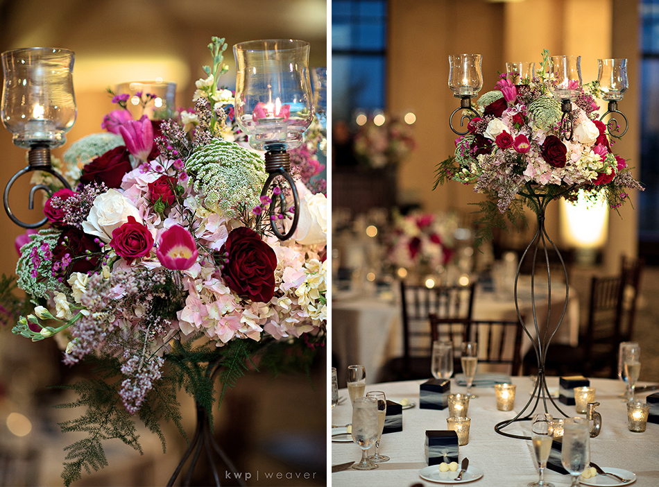 Greenery Production Floral Centerpieces