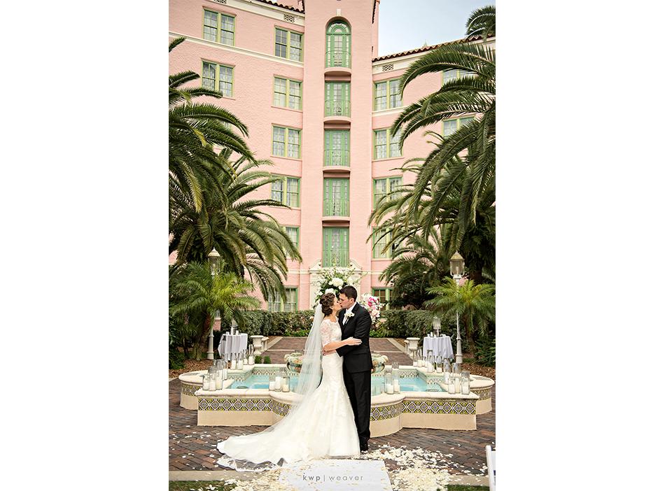 Vinoy hotel wedding portraits