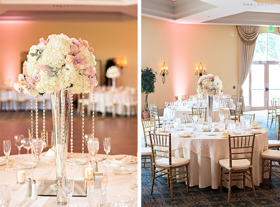 Atmosphere Floral and Decor centerpieces