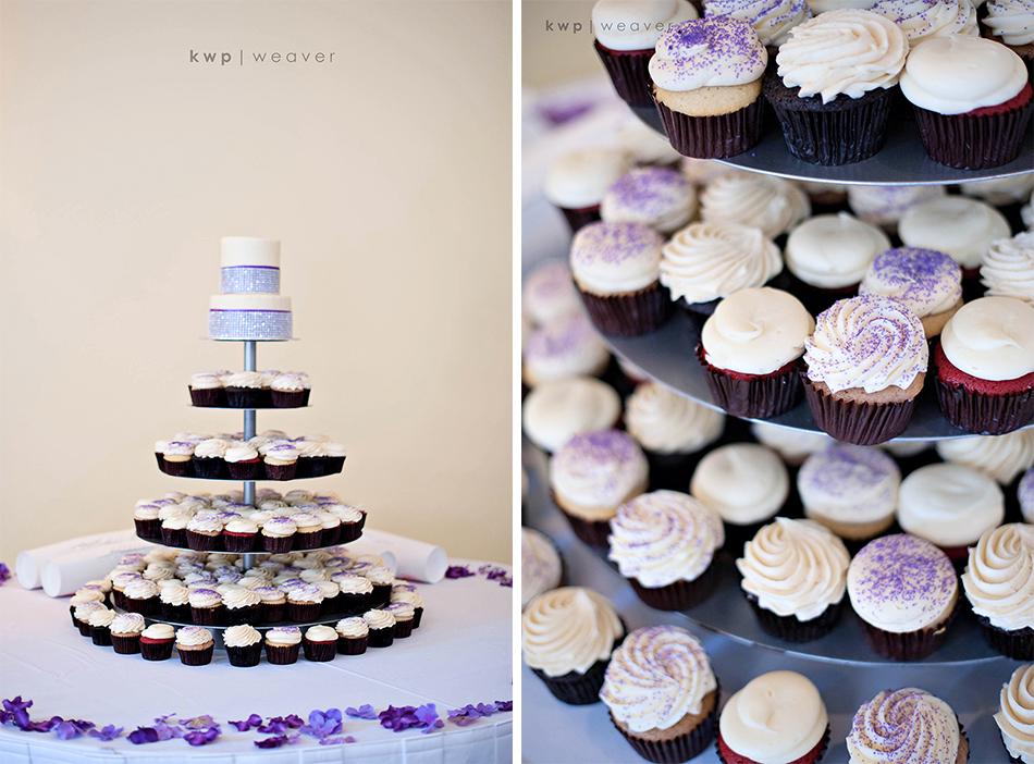 Rosen Shingle Creek Wedding Cake and Cupcakes