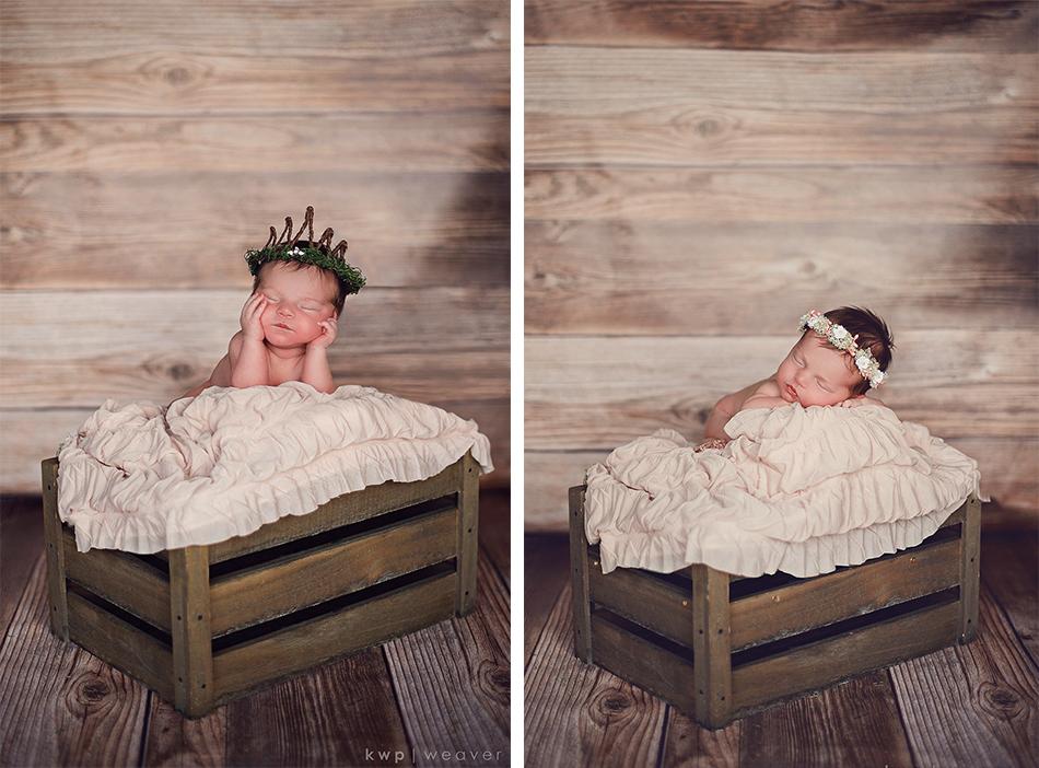 baby girl newborn photography