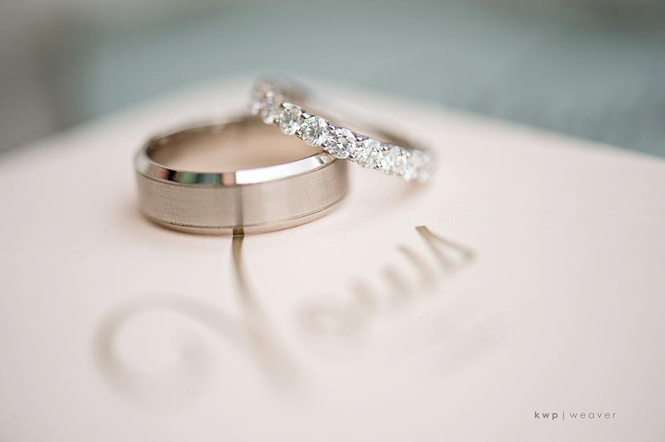 eternity band wedding ring