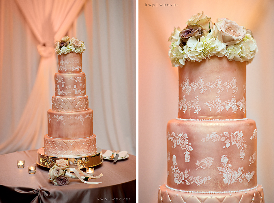 Monochromatic Wedding Cake