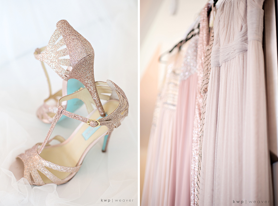 rose-gold wedding