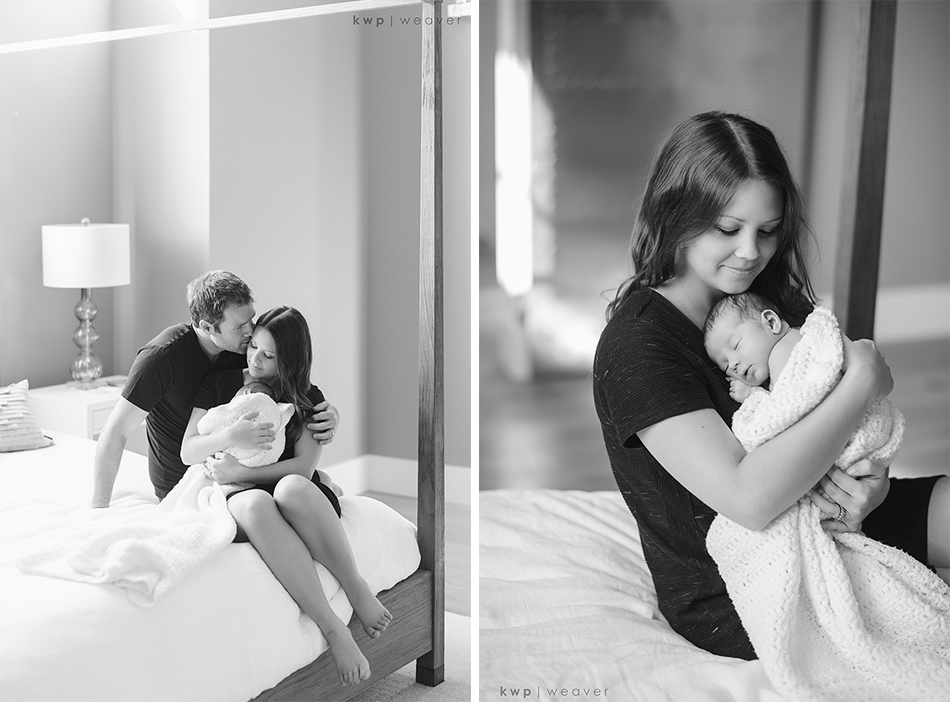 newborn photography black and white