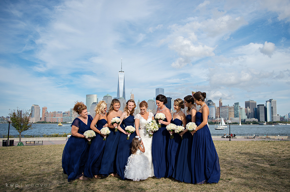 NYC Wedding skyline