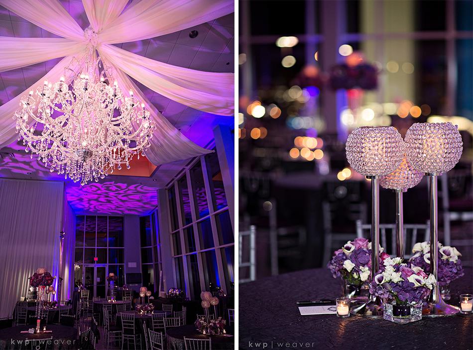 Purple reception details