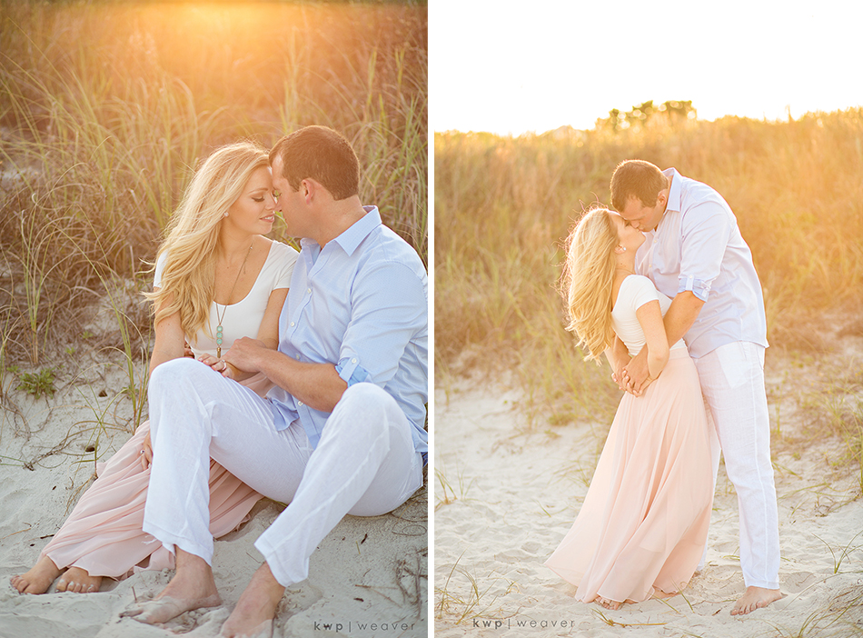 Sunset Beach Engagement