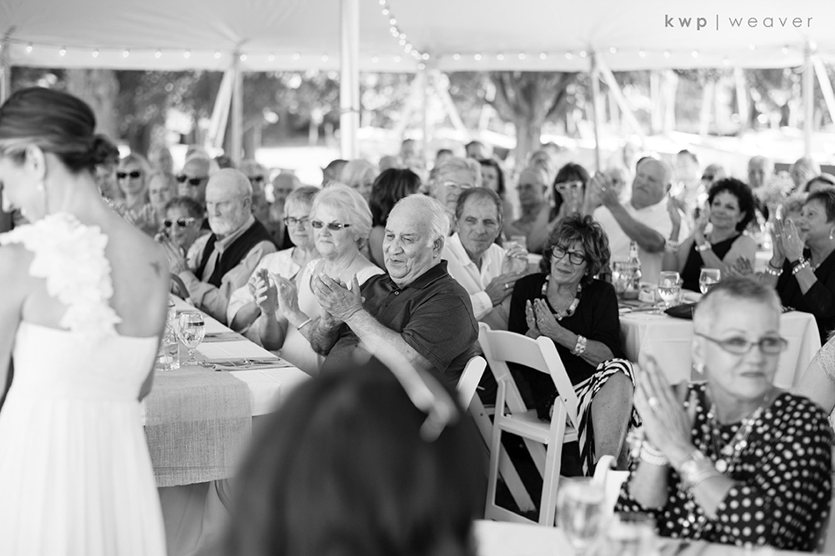 tented wedding ceremony