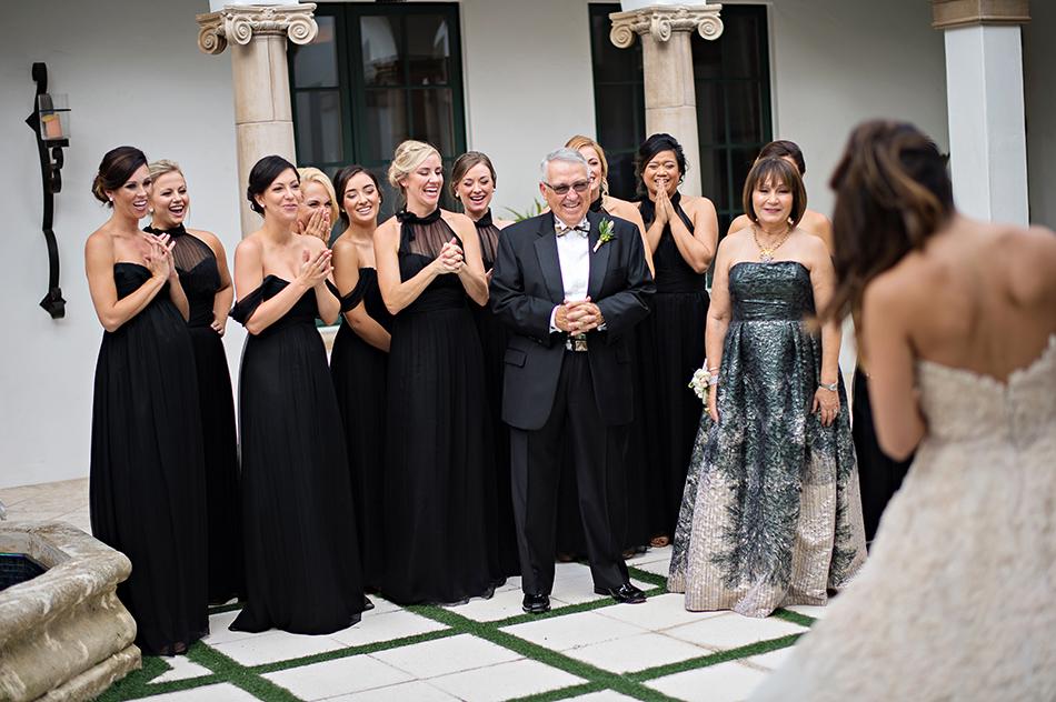 wedding reaction photo