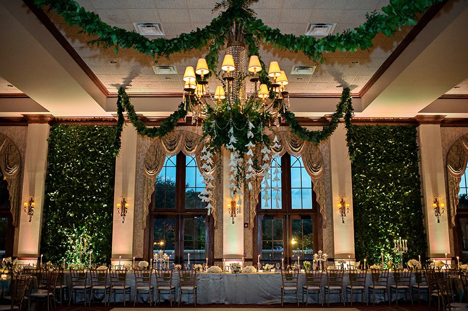 wedding reception floral