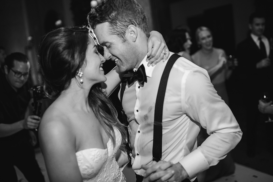 black tie affair wedding