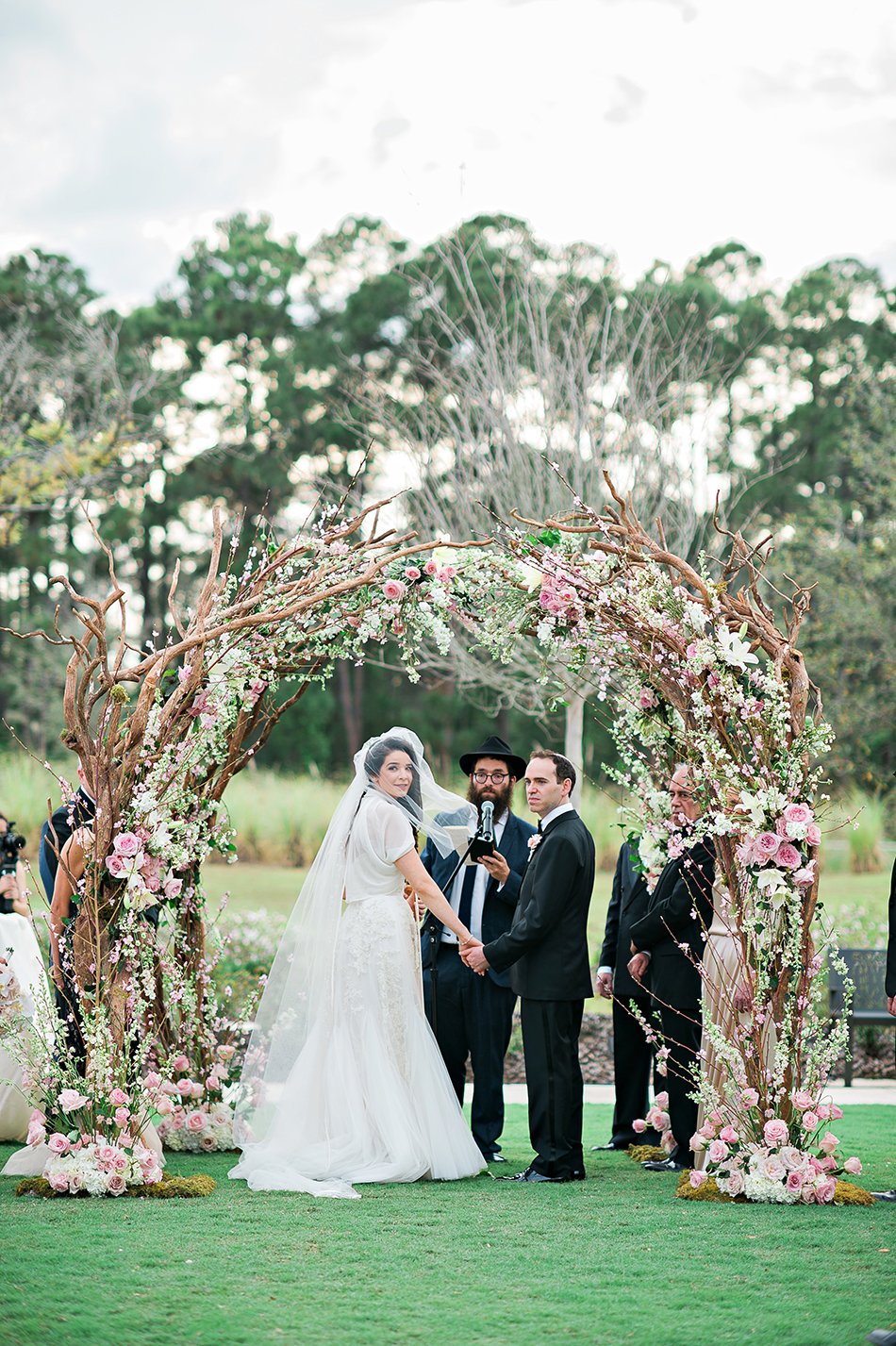 unique wedding arch