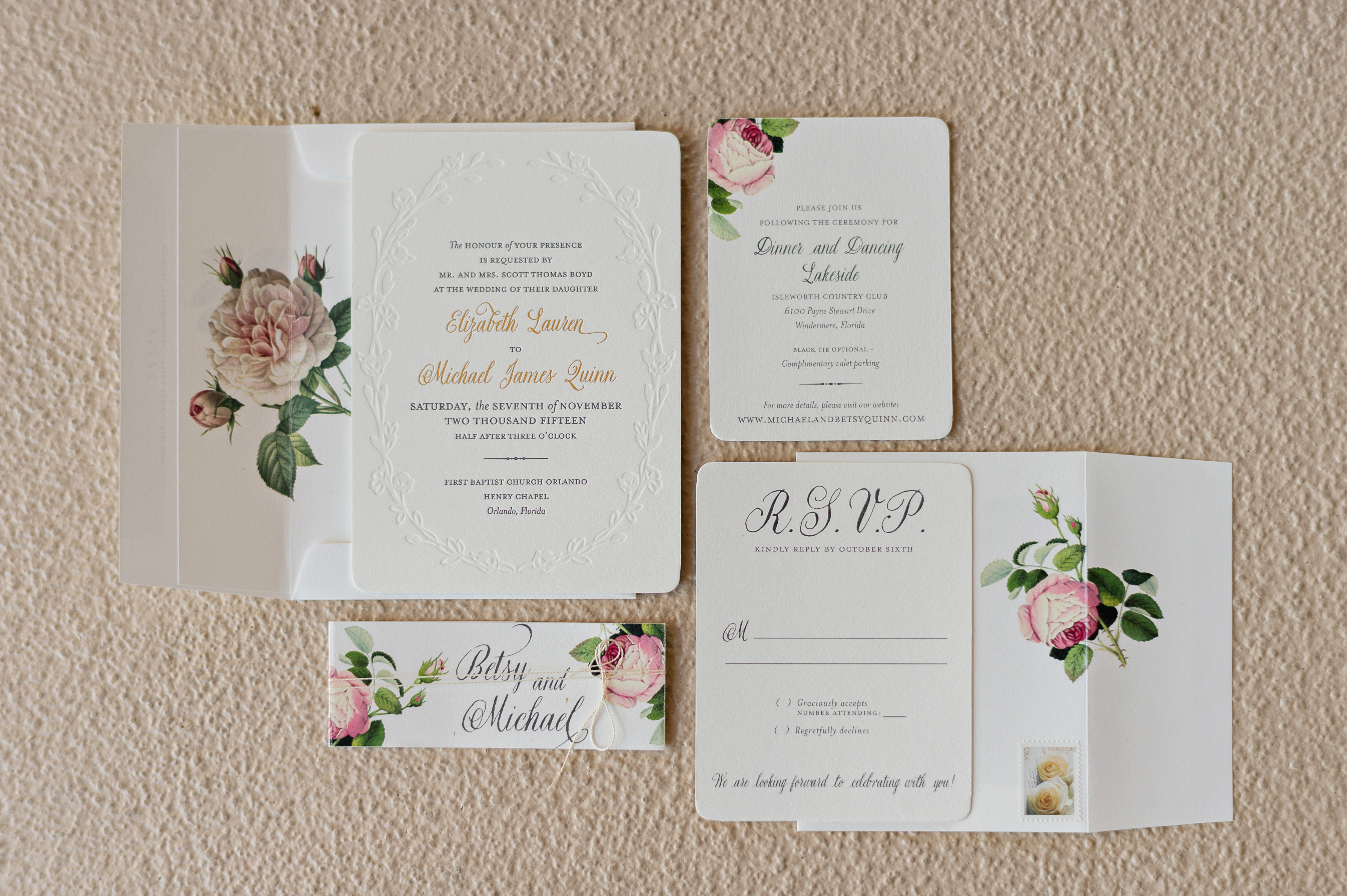 floral dogwood blossom stationery