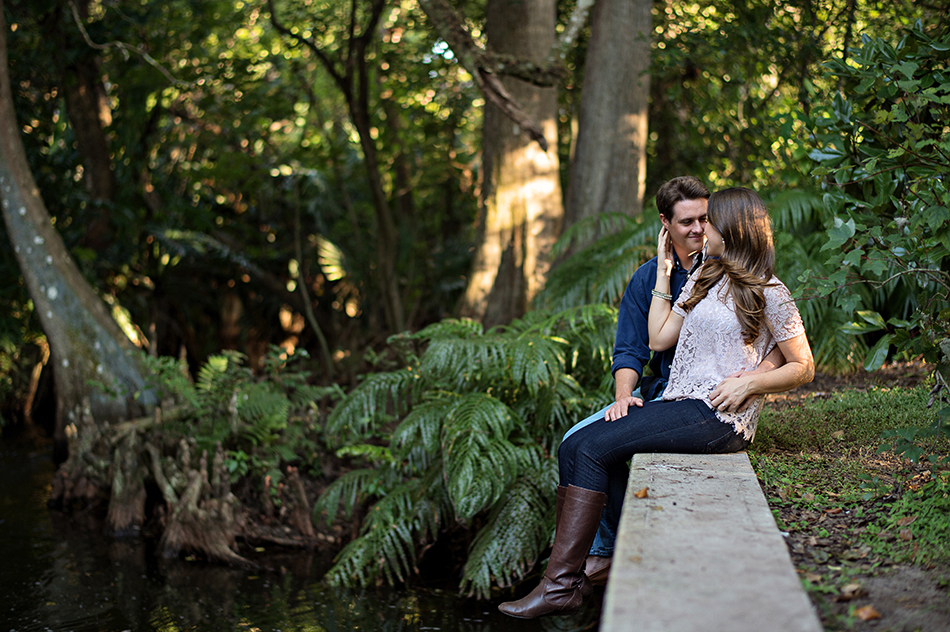 mead garden engagement session