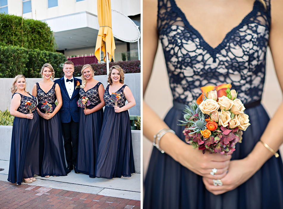 maroon navy wedding details