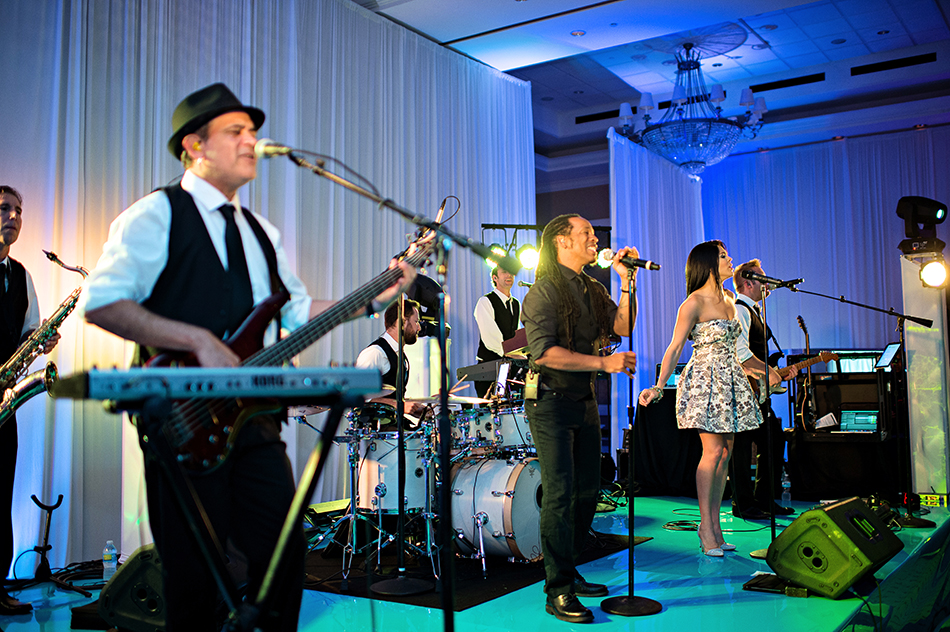 The Leonard Brothers Band reception