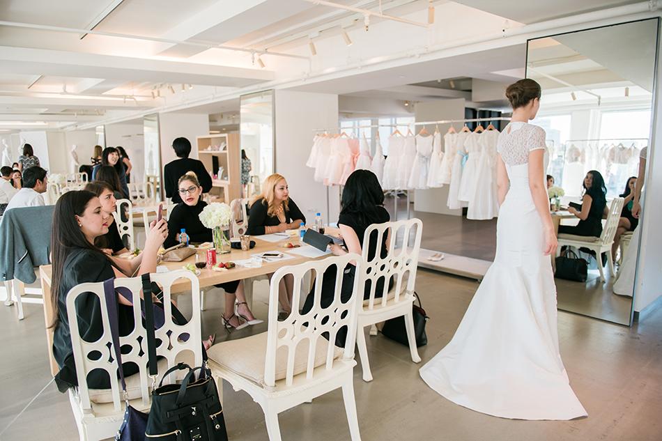 new york bridal fashion week behind the scenes