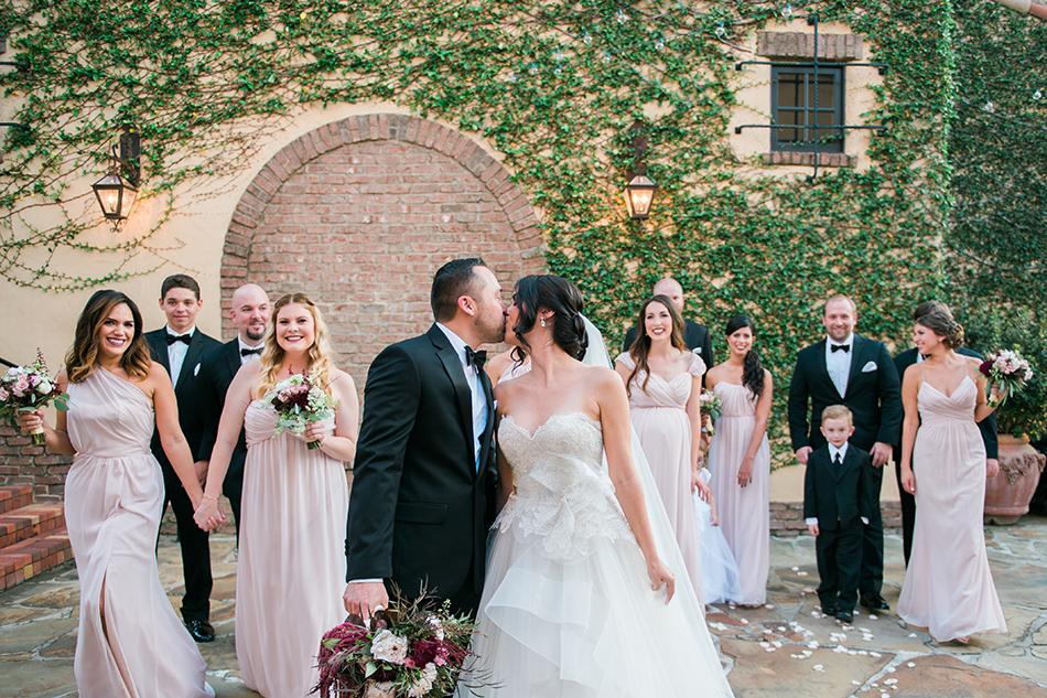 bella collina blush bridesmaids