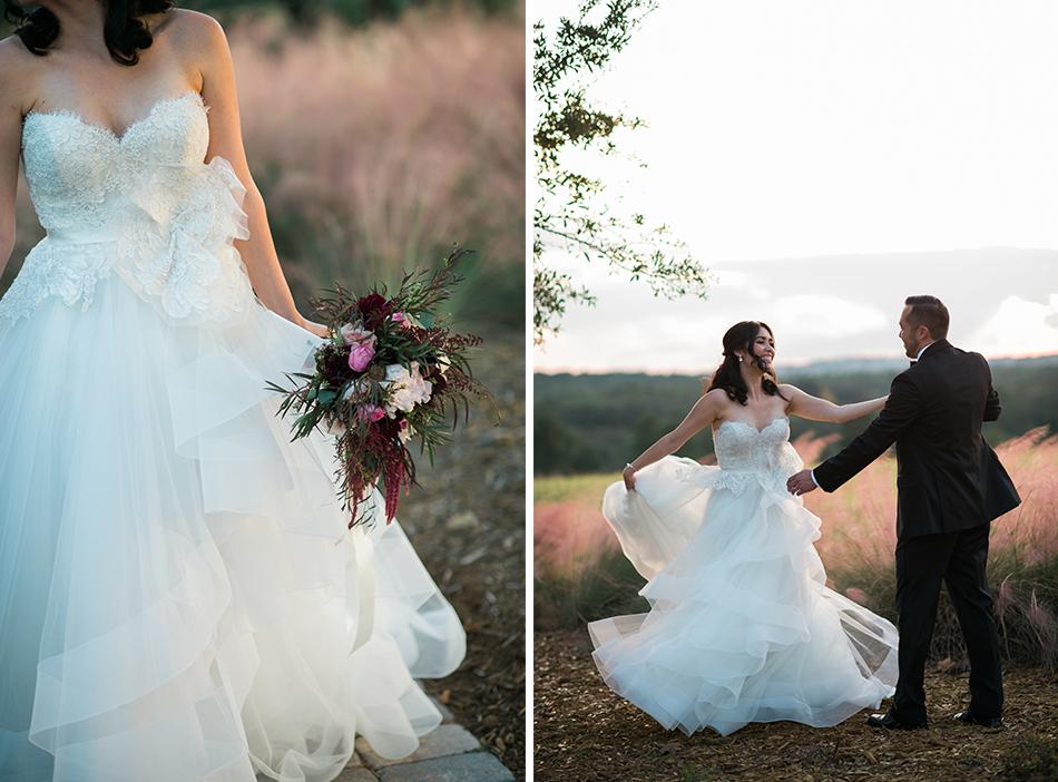 bella collina wedding fields