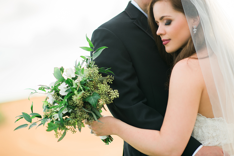 greenery wedding floral