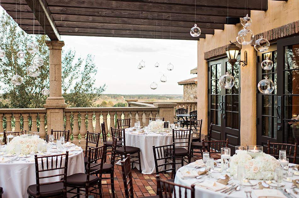 bella collina wedding reception space