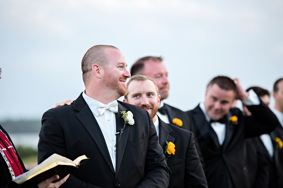 groom real moments reaction