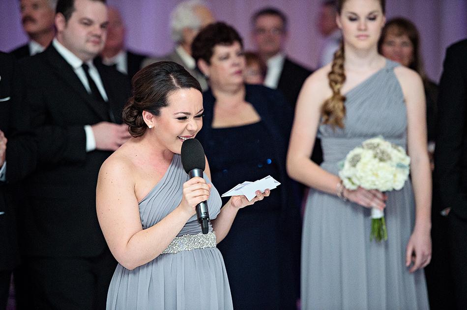 bridesmaid speech
