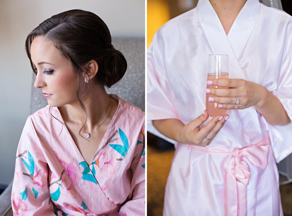 wedding day robes