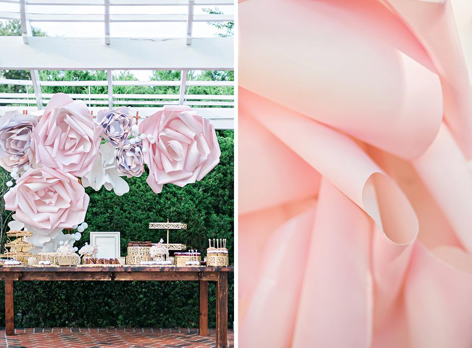 custom floral backdrop