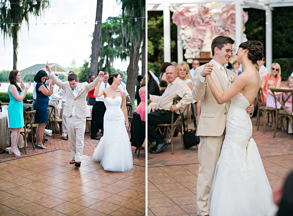 just married first dance