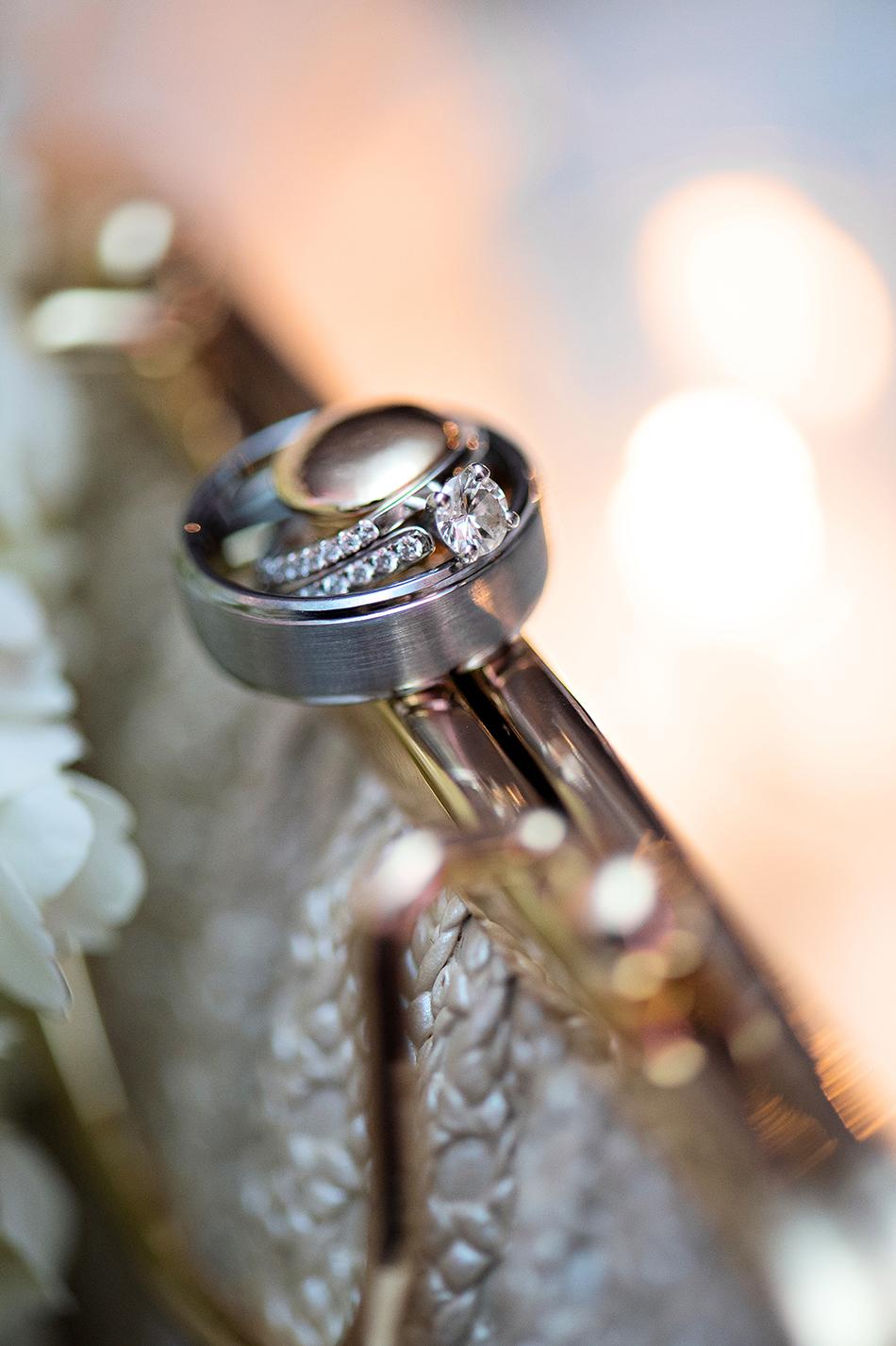 wedding band ring shot