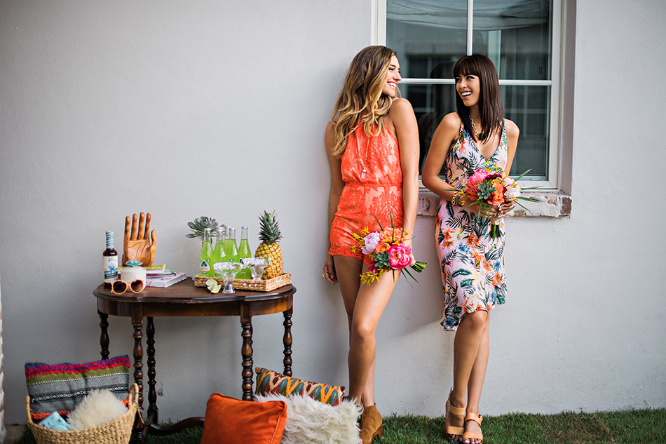unique modern bridesmaids