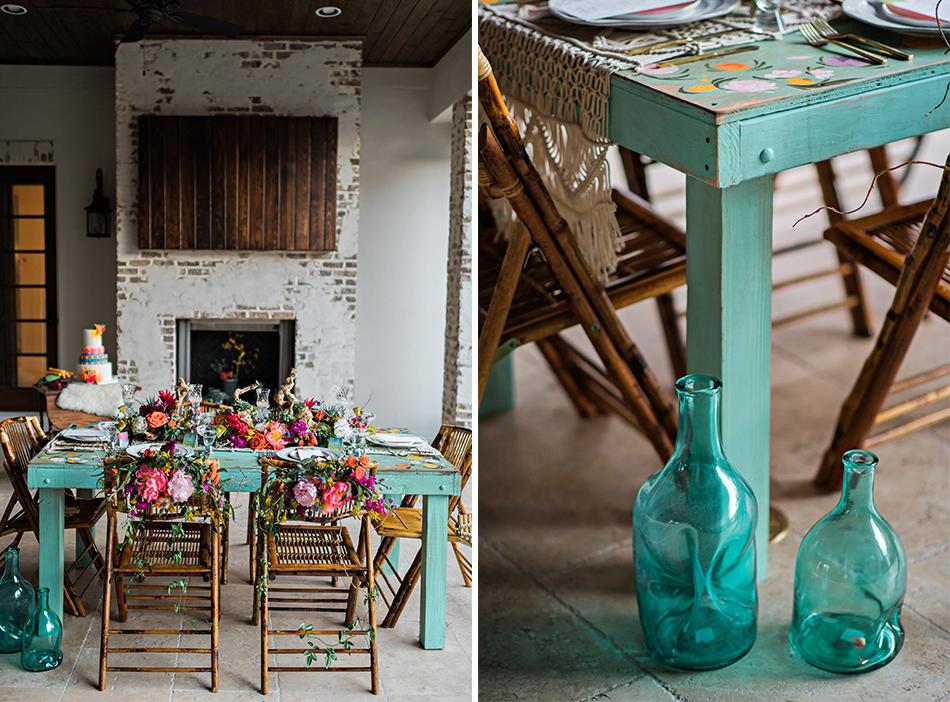 custom wedding table anthropologie