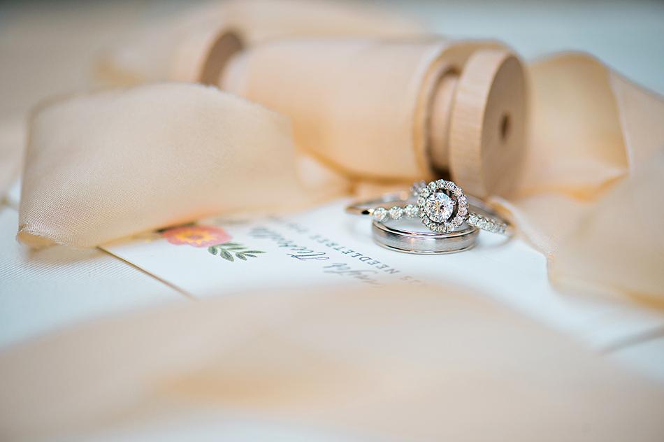 glamorous wedding ring
