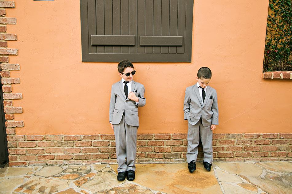 cute junior groomsmen