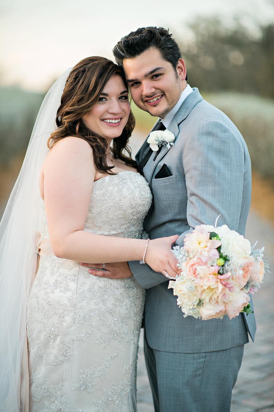 CC's Boutique wedding gown
