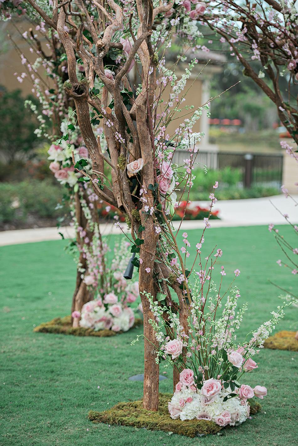 gorgeous floral Chuppah