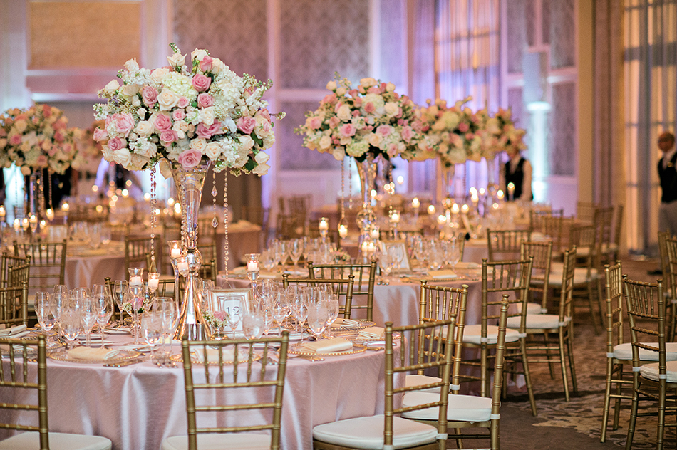 four seasons pink wedding