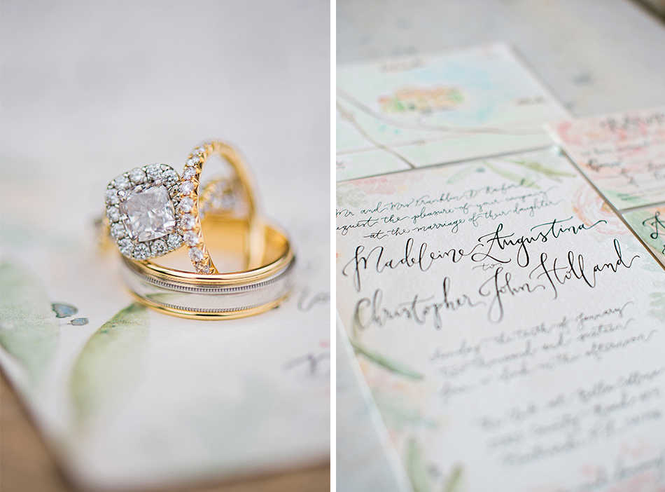 beautiful and delicate bridal details