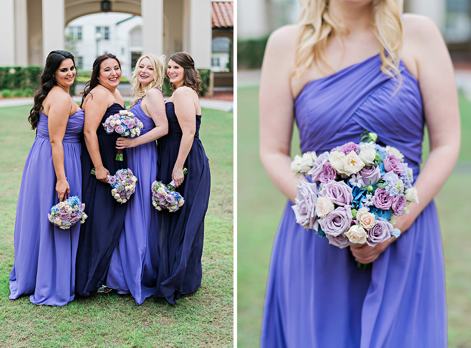 gorgeous lavender bridal gowns