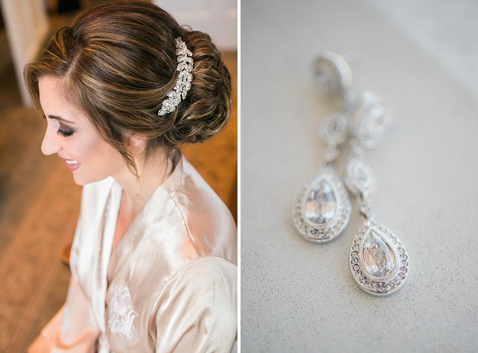 glamorous bridal jewelry