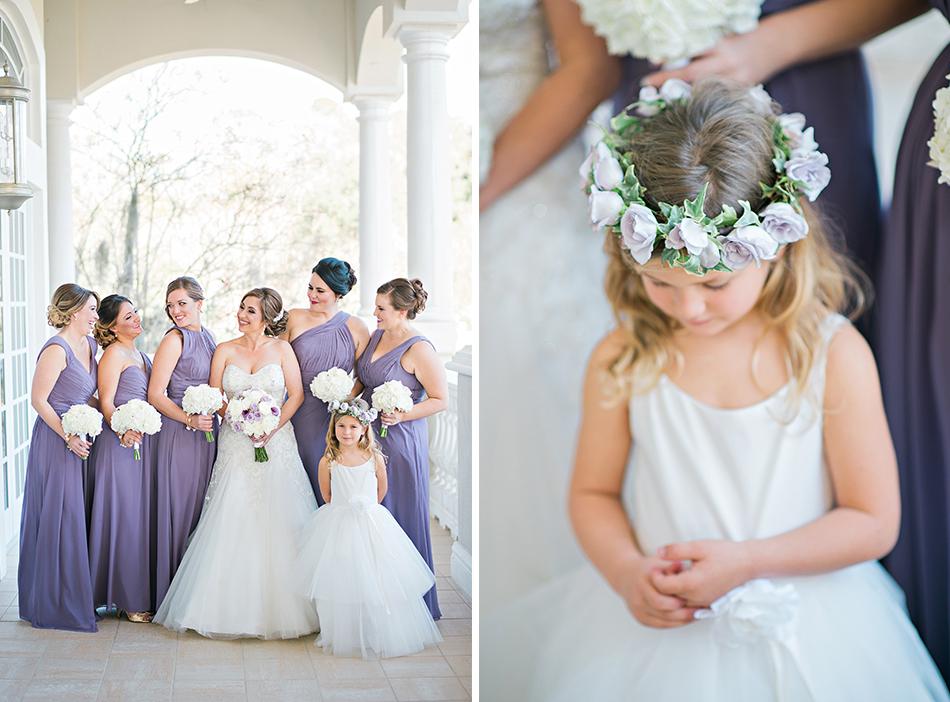 lavender bridesmaid gowns