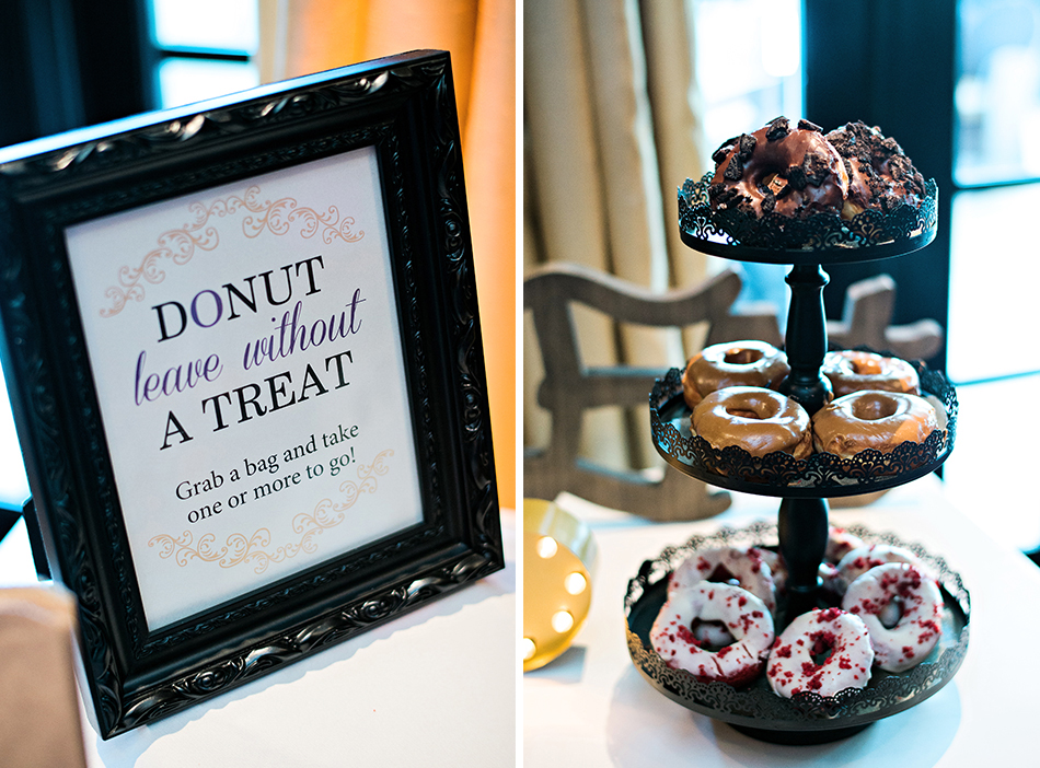donut wedding treats